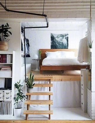 小户型卧室装修装饰效果图