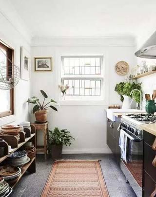 小户型厨房布置平面图