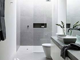 小户型轻而易举  10款小户型浴室实景图