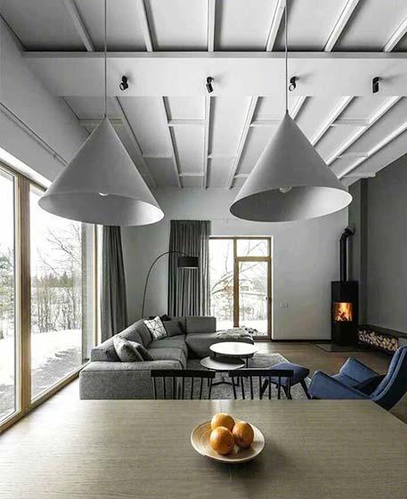 室内创意吊顶装修欣赏图