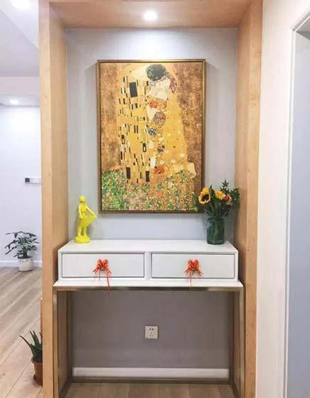 走廊装饰柜装修布置图