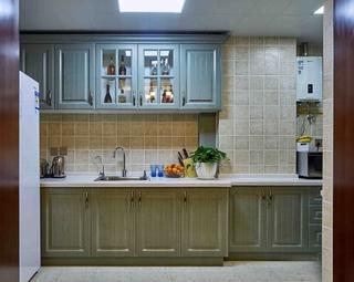 法式风格装修效果图厨房效果图