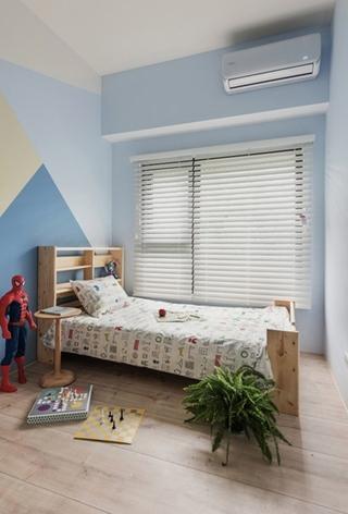 100平北欧风格装修效果图男孩房图片