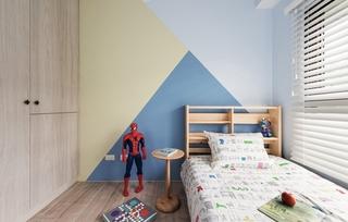 100平北欧风格装修效果图儿童房墙面装饰