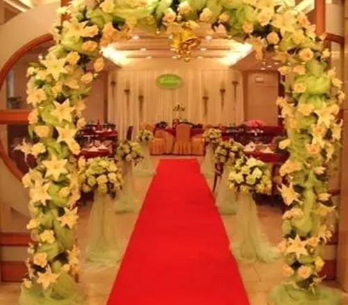 婚礼现场效果图鉴赏 婚礼现场布置的四个要点_婚庆