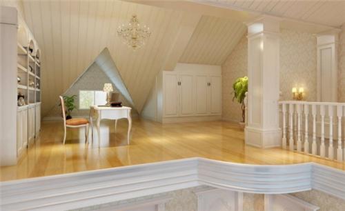 顶楼阁楼装修效果图 顶楼阁楼巧设计让家更出彩