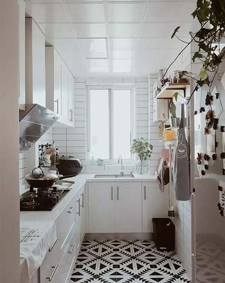 厨房地砖设计参考图