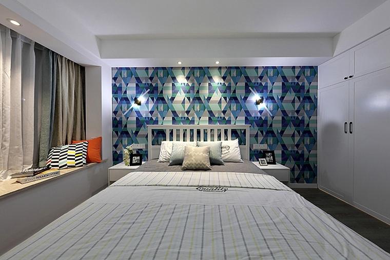 100平宜家风格装修效果图卧室效果图