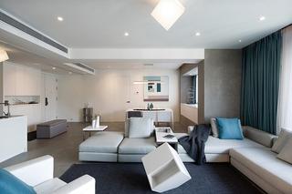 极简风格大户型装修沙发图片