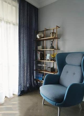 133㎡美式两室两厅沙发设计图