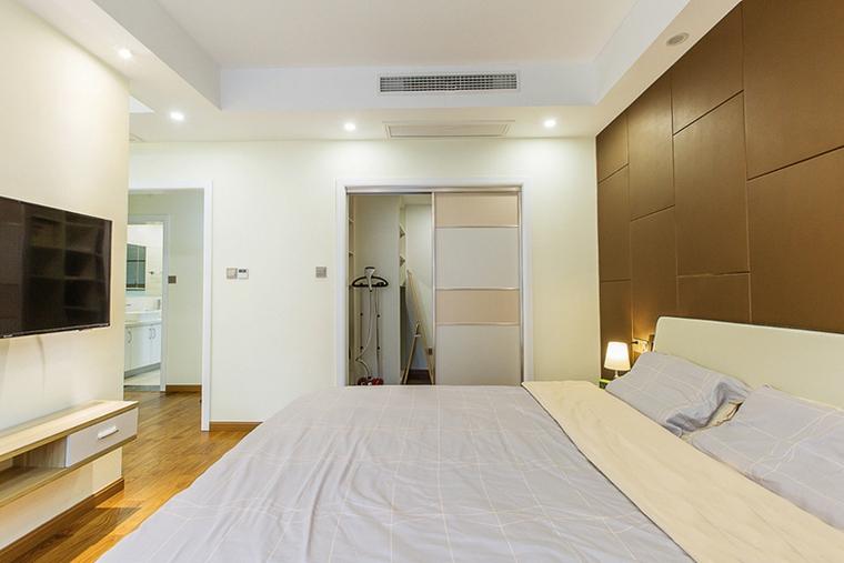 现代简约风格公寓装修主卧图片