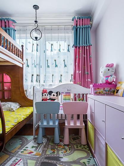 美式装修风格子母床