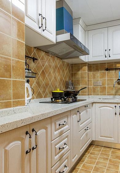 美式装修风格厨房效果图