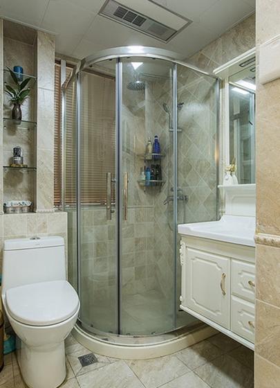 美式装修风格卫生间图片