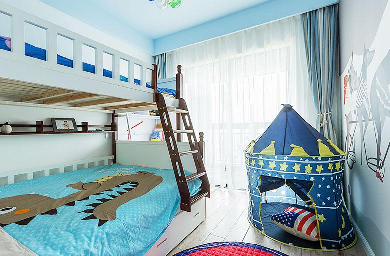 北欧混搭装修儿童房欣赏图