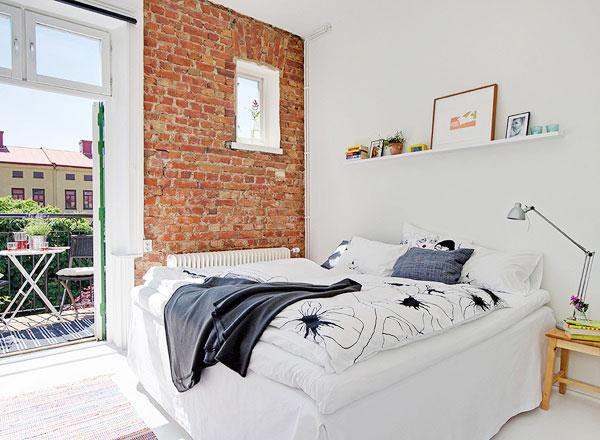 北欧风格卧室布置图片