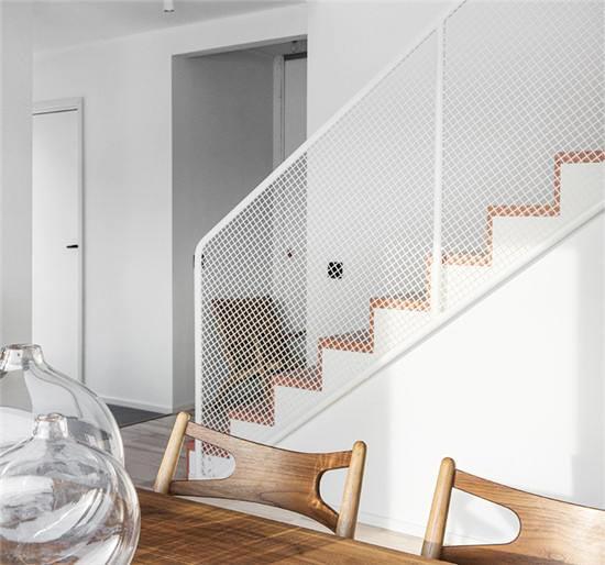 北欧风格楼梯效果图