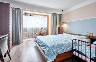 北欧风两室两厅卧室布置图