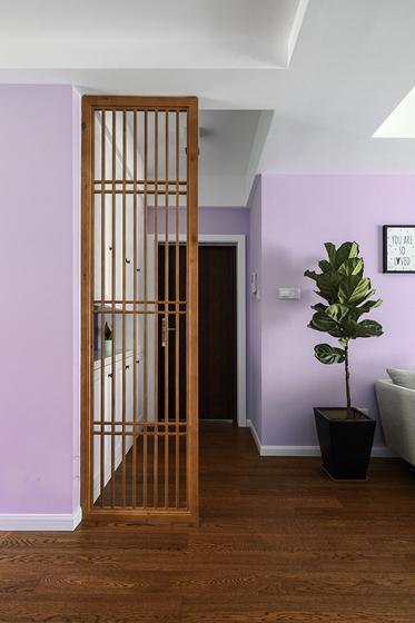 90平两居室装修隔断设计