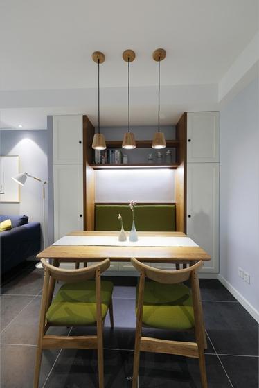 90平北欧风格两居室餐边柜