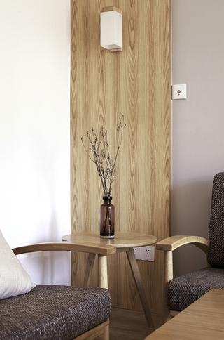 90平日式风格两居室装修 空间设计断舍离3/11
