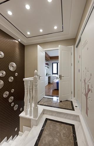 120平复式房装修楼梯图片