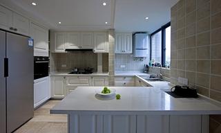 大户型装修效果图开放式厨房图片