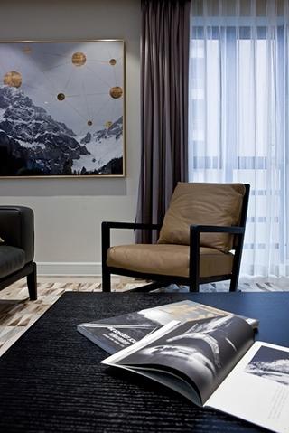 大户型装修效果图单人沙发图片