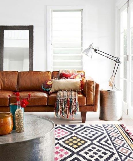 糖果色客厅装修设计实景图