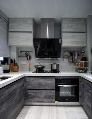 110平简约风格三居室厨房效果图
