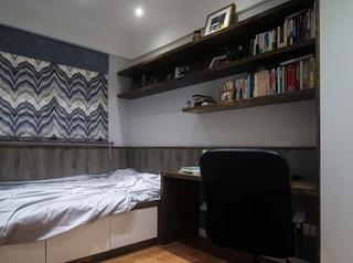 110平简约风格三居室次卧效果图