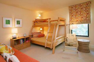 儿童房设计上下床设计欣赏图
