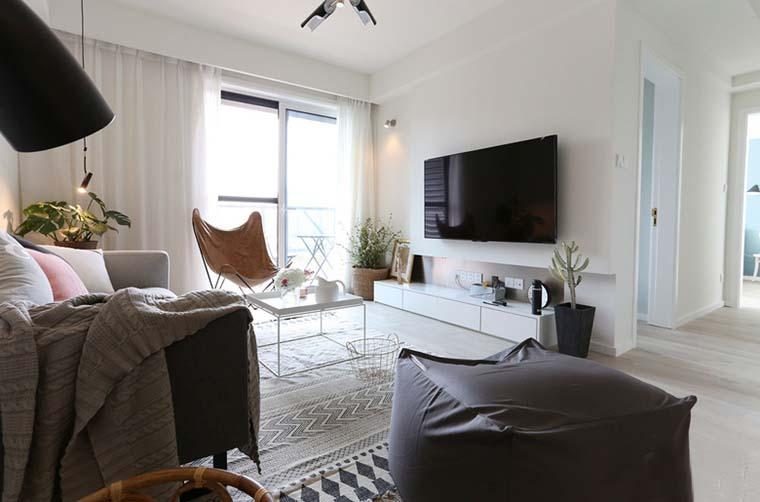 半包9万搞定两居室装修 北欧风格设计更清新