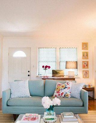 小客厅装修背景墙参考图