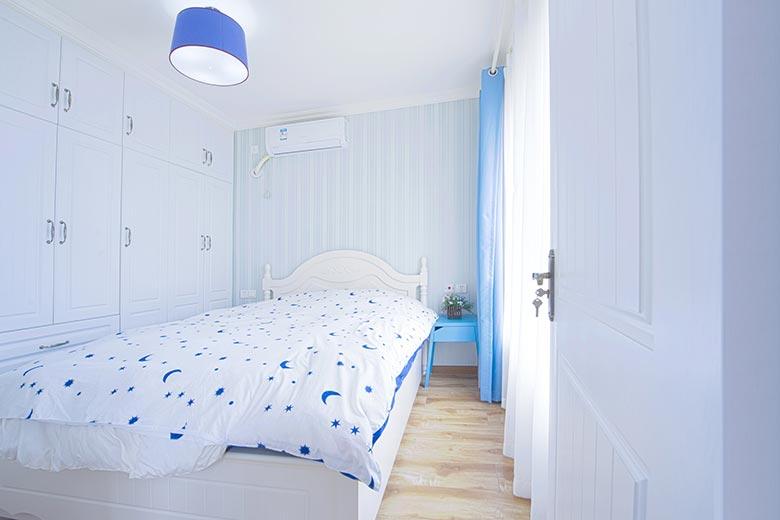 70㎡地中海风格卧室装饰图