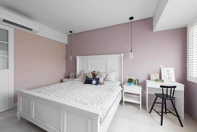 120㎡美式风格卧室参考图