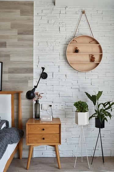 北欧风格三居室装修墙面装饰
