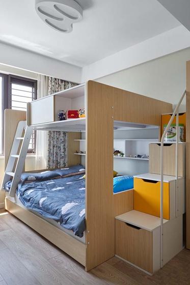 北欧风格三居室装修儿童房效果图
