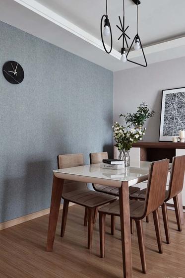 简约质感三居室装修餐厅吊灯图片