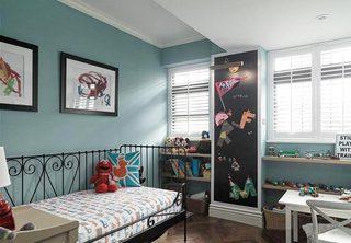 儿童房设计与装修平面图