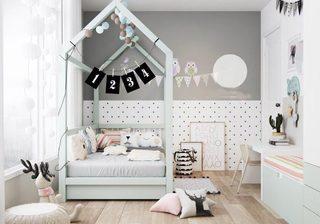 儿童房设计与装修设计图