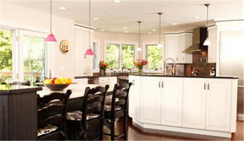 厨房中岛装修效果图 开放式的厨房中岛尺寸
