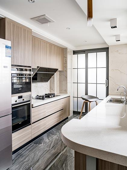 120㎡现代简约厨房装修图