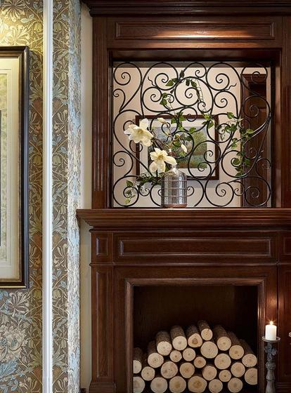 富有韵味的美式风格装修壁炉图片
