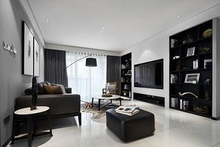 有味道的简约风格装修客厅效果图