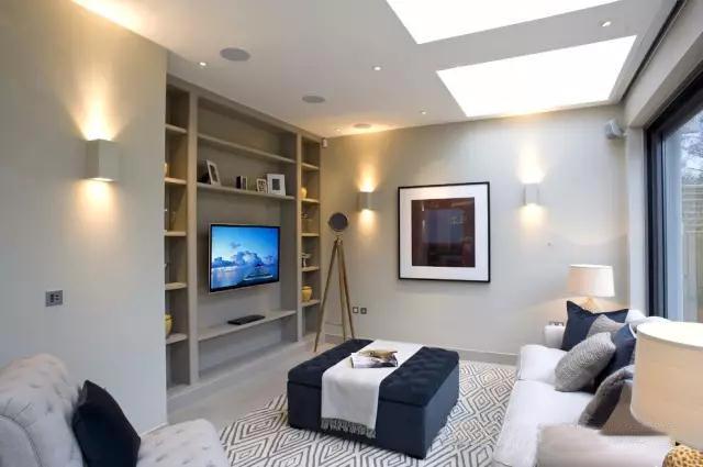 客厅电视背景墙装修装饰效果图