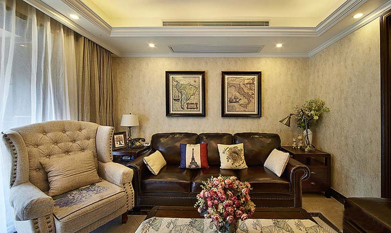 90平方米房子装修 你想不到的设计客厅效果图