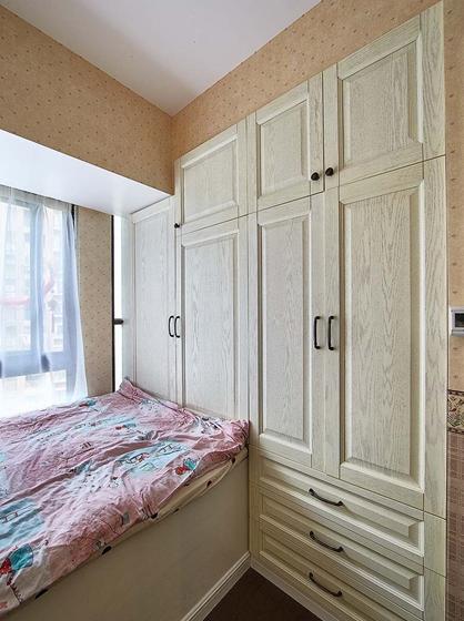 90平四居室装修小卧室装修图