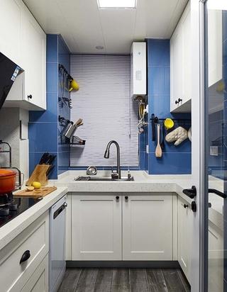 北欧风格三居室装修厨房效果图