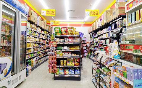 3-5万80平米简约小户型装修效果图,联合一百超市装修